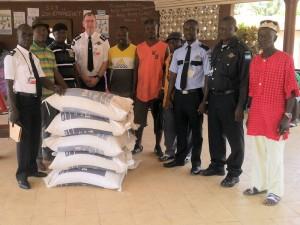 Rice Donation