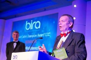 Alan Wolstencroft Award speech